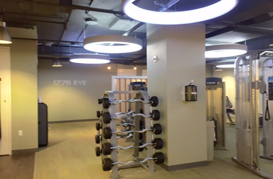 1776 Eye Street NW (Fitness Building)